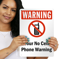 No Cellphone Symbol Sign