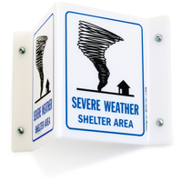 Emergency Severe Weather Shelter Area