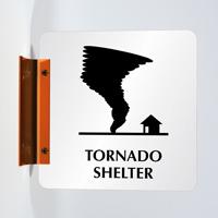 2-Sided Tornado Shelter Spot-a-Signs™