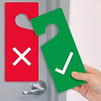 2-Sided Door Hang Tag