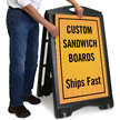 Upload Your Own Design Custom Standard Sign Panel