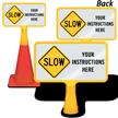 Custom Slow ConeBoss Sign