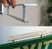 Aluminum Brackets for ceiling or perpendicular mount