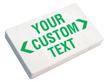 Custom Exit Sign - Green