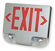 Exit Sign With Led Lamp