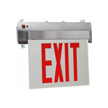 New York-Approved Edge-Lit LED Exit Sign
