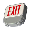 Wet Location Combo LED Exit Sign