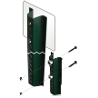 Complete Breakaway System - 8' U-Channel Post
