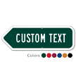 Add Your Custom Text Left Arrow Sign