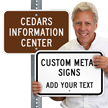 Custom Metal Sign - Add Your Text