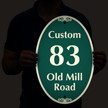 Custom Road Name and Number Reflective SignatureSign