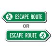 Escape Route Sign