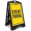 Event Parking Sidewalk Sign