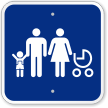 Family Parking Lot Sign