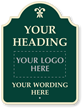 Fully Customizable Premium Palladio Sign With Motif