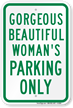 Novelty Private Parking Sign
