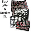 Letter And Number Kit