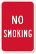No Smoking Sign - Smoke Free