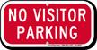 No Visitor Parking, Supplemental Parking Sign