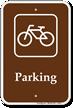 Parking Bike Bicycle Sign