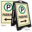 Parking Sidewalk Sign Kit