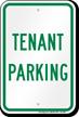 Tenant Parking Sign