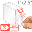 Packaged With Desiccant, Do Not Open Label Dispenser