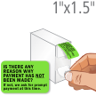 Reason Why Payment Has Not Been Made Label