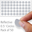 Reflective Dots Label