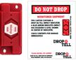 Teladrop Drop-N-Tell Resettable Shock Indicator Labels