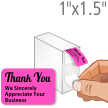 Thank You, We Sincerely Appreciate Your Business Label