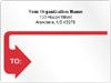 Jumbo Roll Mailing Label, 4