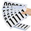 Mylar 3 Inch Numbers Letters 0-9 Number Kits