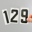 Self-Align Die-Cut Vinyl Numbers Set 3 Inch Tall