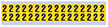 Small Vinyl Cloth Number '2' Label, 0.625 Inch