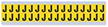 Small Vinyl Cloth Letter 'J' Label, 0.625 Inch