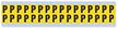 Small Vinyl Cloth Letter 'P' Label, 0.625 Inch