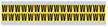 Small Vinyl Cloth Letter 'W' Label, 0.625 Inch