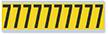 Numeric '7' Vinyl Cloth Label, 2 Inch