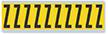 Alphabet 'Z' Vinyl Cloth Label, 2 Inch