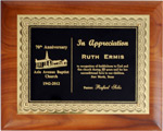 Custom Certificate Wooden Award Plaque