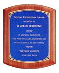 Custom Gemstone Rosewood Wooden Award Plaque