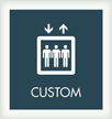 1 Line Custom Regulatory w/Symbol