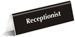 Receptionist Sign