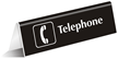 Telephone (with symbol)