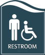 Pacific Restroom Sign