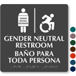 Updated ISA Gender Neutral Restroom Sign