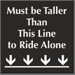 Amusement Park Engraved Sign