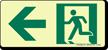 GlowSmart™ Directional Emergency Signs, Arrow Left