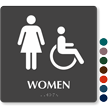 Women Female Accessible Sign
